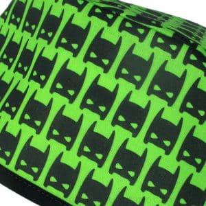Gorros quirofano Máscara Batman fondo verde ampliación - 873a