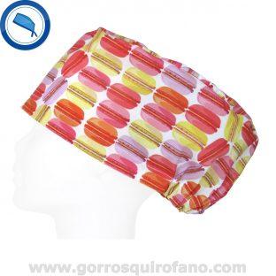 Gorros quirofano macarron colorido - 404