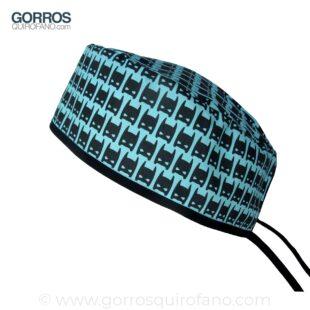Gorro Quirófano Azul Máscara Batman - 875