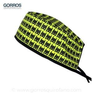 Gorros Quirofano Amarillos Máscara Batman - 877