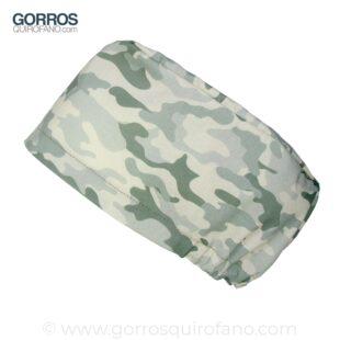 Gorros Quirofano Camuflaje Pelo Largo Verde Desierto - 413