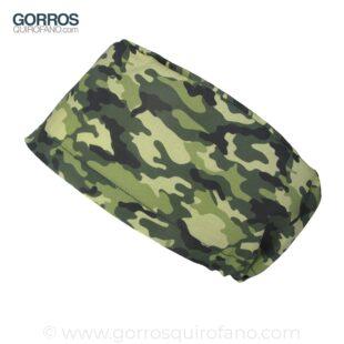 Gorros Quirofano Camuflaje Verde bosque - 415