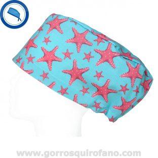 Gorros Quirofano Menta Estrella Mar Coral - 422