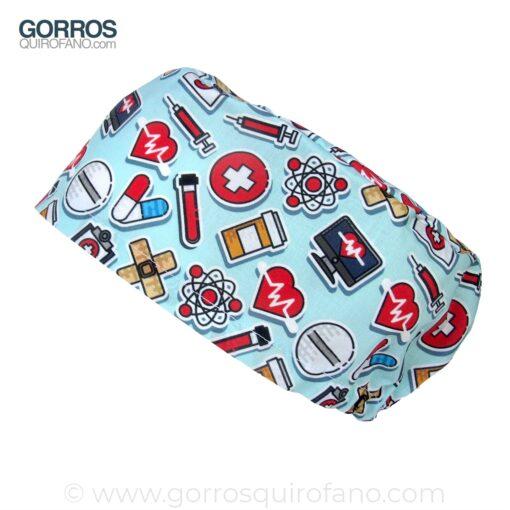 Gorros Quirofano Menta Material Quirúrgico - 405