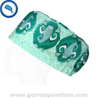 Gorros Quirofano Verde Menta Mamut - 408
