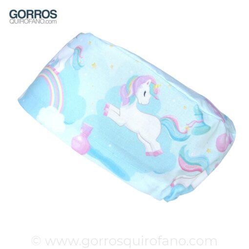 Gorros Quirofano Unicornios Arco Iris - 424