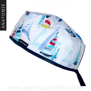 Gorros Quirofano ANATOMIE Barcos - 0118