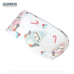 Gorros Quirofano Pinguinos Nieve - 430