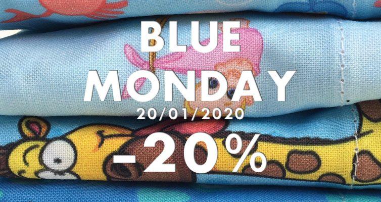 Blue Monday Descuento 20% gorros de quirofano