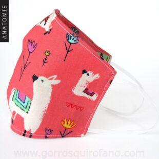 Mascarillas Tela Llamas - MASC007