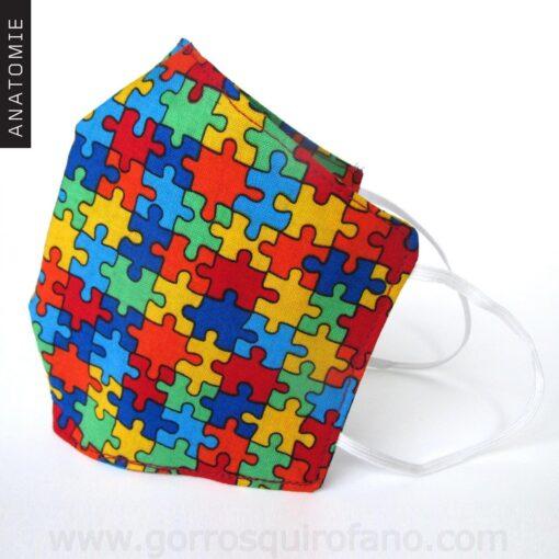 Mascarillas Tela Puzzle - MASC022