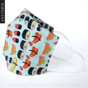 Mascarillas Tela Sushi - MASC019