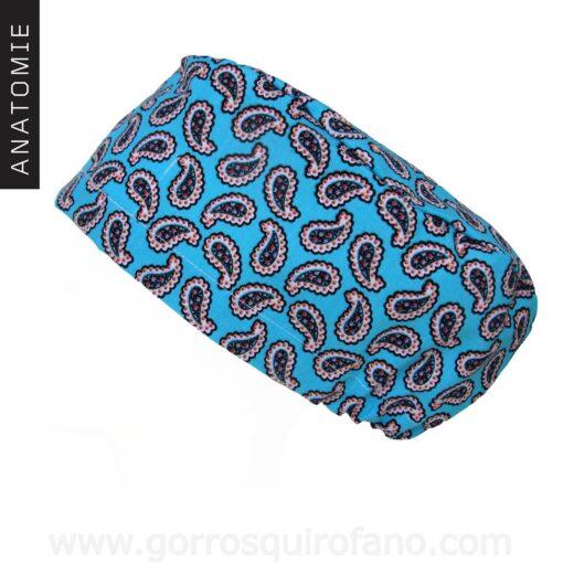 Gorros Quirofano ANATOMIE Abstractos Azules - AM1162