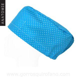 Gorros Quirofano ANATOMIE Azul Lunares - AM1161