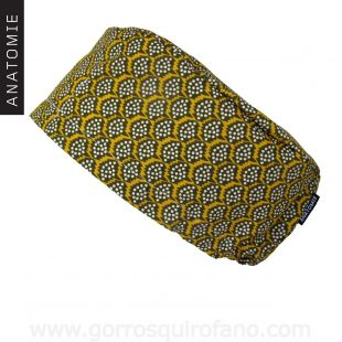 Gorros Quirofano ANATOMIE verde oliva amarillo - AM1158