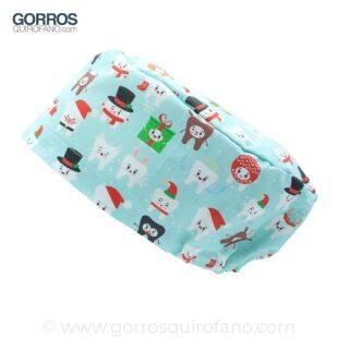 Gorros Quirofano Muelas Dentistas Navidad - 435