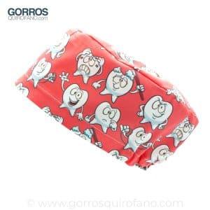 Gorros Quirofano Coral Muelas - 440
